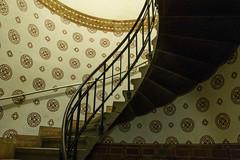 Copenhagen stairs (michael_hamburg69) Tags: stairs copenhagen denmark pattern stairway treppe staircase townhall rathaus dnemark kopenhagen kbenhavn rdhuspladsen rathausplatz