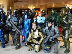 Halo and Cortana (dcnerd) Tags: cosplay halo masterchief katsucon cortana cosplaycomiccon cosplaywomen cosplayhalo katsucon2016 katsuconnationalharbor katsuconwashingtondc cosplaykatsucon cosplaycortana