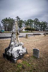 Bubba Statue-007 (RandomConnections) Tags: church cemetery southcarolina ward methodist spannmethodistchurch