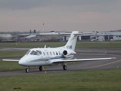 N709EL Beechjet (Aircaft @ Gloucestershire Airport By James) Tags: james airport gloucestershire lloyds beechjet bizjet egbj n709el