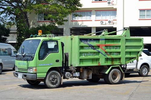 Isuzu Garbage Truck - Hua Hin Thailand