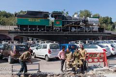 160123_01 (The Alco Safaris) Tags: indian loco steam ng railways gauge narrow zp5