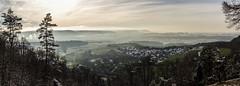 Braunenberg Richtung Aalbaumle-1 (opograph) Tags: panorama clouds landscape nebel wolken landschaft ostalb