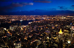 one million and one lights (damianmkv) Tags: nyc newyork cityscape newyorkatnight viewfromempirestatebuildingatnight