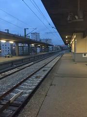 Station gare du stade  Colombes - ligne J (stefff13) Tags: station train gare rail stade colombes