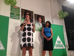 Greens launch for Wills: Samantha Ratnam starts campaign to win #Wills2016Greens Campaign Manager Rosie Collins with Samantha Ratnam at Greens Campaign launch #Wills2016 (John Englart (Takver)) Tags: greens wills ausvotes samantharatnam ausvotes2016 wills2016