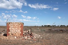 grapes (The Dent.) Tags: house abandoned broken death solitude farm failure grapes heat dreams flies despair series misery wrath steinbeck
