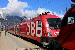 BB 1116 225-4 FB Railjet, Innsbruck Hbf (michaelgoll777) Tags: taurus bb 1116 fb railjet