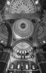 Valide Sultan Mosque (BOYABADANACI) Tags: architecture turkey istanbul mosque islamic architecturalphotography eminonu validesultanmosque canoneos5dmkiii canontse17mmlf4