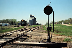 BN, Streeter, North Dakota, 1978 (railphotoart) Tags: unitedstates northdakota eb streeter stillimage