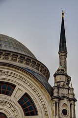 Istanbul - Dolmabahe Mosque (David Pirmann) Tags: turkey minaret istanbul mosque dome dolmabahe othertour