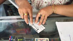 Topping up mobile card (Michael Chow (HK)) Tags: burma myanmar kalaw
