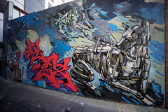 (th3butcherofbilbao) Tags: street art melbourne cruel cezary stulgis