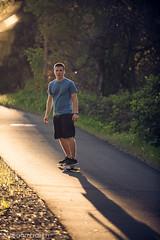 (Megan Fralich) Tags: boy backlight longboard rimlight