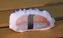 Cat Toy  - Sushi (made by mauk) Tags: cat toys catnip spoonflower madebymauk