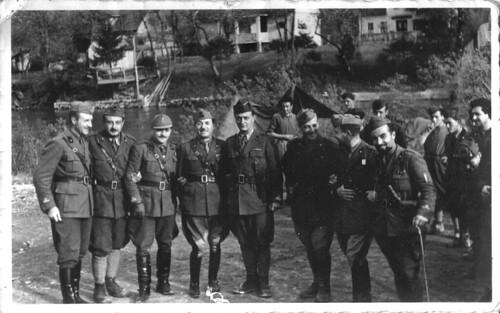 ...1941 - alcuni Ufficiali dei Guastatori del Genio