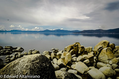 The Million Dollar View (EdwardA57) Tags: lake mountains beauty nikon rocks tahoe laketahoe serenity sierranevadas nikond3200 sandharbor d3200