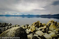 The Million Dollar View (EdwardA57) Tags: lake mountains beauty nikon rocks tahoe laketahoe serenity sierranevadas nikond3200 sandharbor d3200