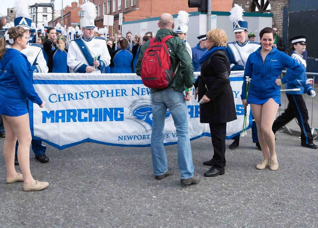 Christopher Newport University Marching Captains-112404