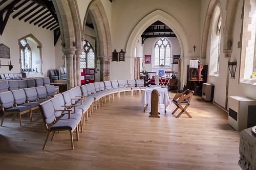 Reepham (Lincs) Ss Peter & Paul church, interior