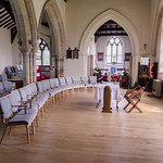 Reepham (Lincs) Ss Peter & Paul church, interior thumbnail