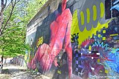 Bronx Odalisque (Trish Mayo) Tags: graffiti bronx wallart urbanart thebestofday gnneniyisi