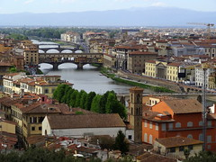 View of Florence and the River Arno (chibeba) Tags: city urban italy florence spring europe april 2016 citybreak