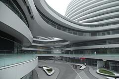 Galaxy Soho building complex in Beijing, China (Jordan Pouille JOURNALIST) Tags: china soho beijing pkin pouille