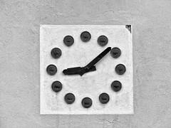 BOTTLES CLOCK (didi tokaoui) Tags: white black clock photo noir bottles time and horloge temps et didi blanc bouteilles tokaoui
