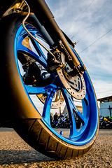 Backfire Moto 18 (jetcitygrom) Tags: seattle canon washington cafe meetup motorbike moto motorcycle biker ballard rider racer 61 backfire