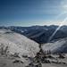 Montanhas antes de voltar a Rodovia dos Ossos