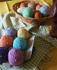 uova di Pasqua (stranelane1) Tags: easter tricot knitting knit cotton eggs knitted maglia uova cotone uovadipasqua