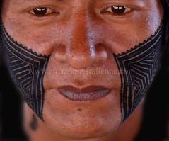 kayapo (guiraud_serge) Tags: portrait brasil amazon retrato tribes ritual indians indios matogrosso rites brésil amazonia amazonie indiens fêtes kaiapo tribus kayapo javari amazonpeople cérémonies femmeindienne parcduxingu sergeguiraud jabiruprod yaweri