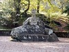 Proserpina / Persefone (Ramona Anitsuga) Tags: italy sculpture verde green forest italia escultura bosque magical viterbo bomarzo proserpina mithology mitologia encantado persefone