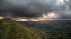 Sunset Strip (sidibousaid60) Tags: uk sunset clouds landscape derbyshire peakdistrict valley edale rushupedge