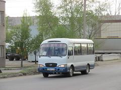 Hyundai County (stanislavkruglove) Tags: county bus hyundai 2016 pavlodar