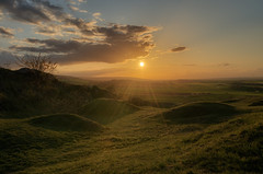 three hills (Rainer Schund) Tags: sunset tree nature landscape three thringen nikon sonnenuntergang erfurt natur hills landschaft plantatree nikond700 naturemasterclass natureexploring