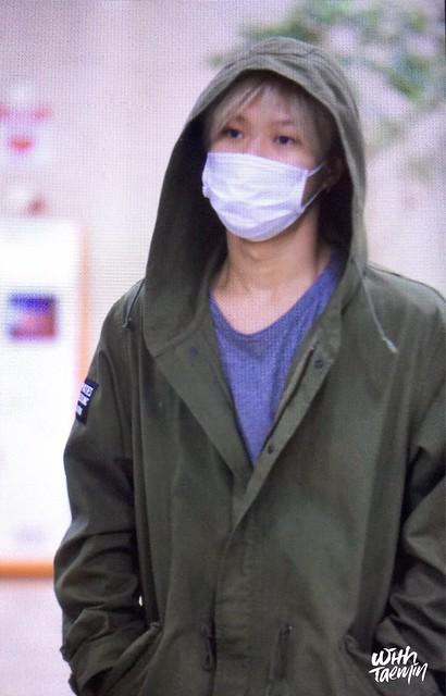 160427 Taemin @ Aeropuerto Gimpo {Llegada a Corea} 26125796904_2e2b2f2ddb_z