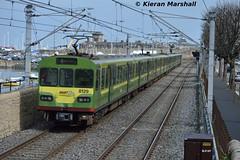 8129 outside Salthill, 12/4/16 (hurricanemk1c) Tags: irish train salthill siemens rail railway trains railways dart irishrail lhb 2016 iarnród 8129 éireann iarnródéireann class8100 1402malahidegreystones