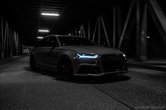RS6 (Jonathan Steinhoff) Tags: bridge car night photography hamburg audi hafencity quattro rs6 620ps