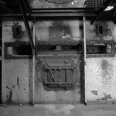 Boiled (.:Axle:.) Tags: bw slr industry 120 6x6 film mediumformat square blackwhite nc rust ruins industrial factory fuji kodak stock northcarolina hasselblad urbanexploration leftovers fujifilm neopan powerplant ue mamu acros urbex xtol acros100 filmphotography fujiacros100 oldfort filmisnotdead hasselblad500c filmisalive kodakxtol carlzeissdistagon50mm14 believeinfilm mamuviii mamu8