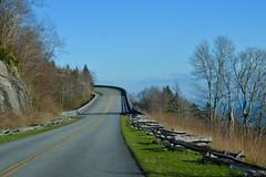 Curve Ahead (kettiovercash) Tags: road mountains highway blueridgeparkway