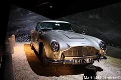 Aston martin DB5 james bond 007 (Martial Lhermitte) Tags: paris never james die martin sean exposition bond avril aston spectre 007 connery jamesbond 2016 danielcraig jeams tomorow skyfall martiallhermitte timmothydalton