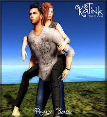 KaTink - Piggy Back (Marit (Owner of KaTink)) Tags: photography sl secondlife 60l katink my60lsecretsale annemaritjarvinen 60lsalesinsl