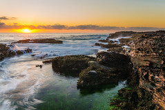 Narrabeen Sunrise (dave.gti) Tags: ocean seascape nature water rocks australia nsw narrabeen