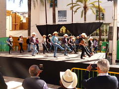 Wild West - Country  Calafell (calafellvalo) Tags: west dance spain country folklore calafell catalonia msica wildwest flamenco garraf sevillanas danzas farwest lunares calafellvalo vilanovailageltr airesdelsur kaoboi plaadelesneus countrycalafellvilanovageltrsevillanascalafellvalobailesfolklore countrycalafell