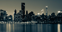 NYC, indeed a concrete jungle...! (ravi_pardesi) Tags: nyc newyork reflection skyline architecture contrast concrete evening twilight outdoor queens serene awesomeness primeshot