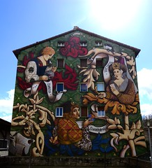 Vitoria (padraicsmeehan) Tags: espaa streetart art colors graffiti spain mural spraypaint basque euskadi vitoria gasteiz vitoriagasteiz paysbasque pasvasco reinodeespaa kingdomofspain
