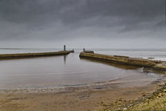 Long arms (Through Bri`s Lens) Tags: sea lighthouse yorkshire tide whitby navigation whitbyharbour brianspicer