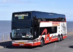 YH63CWM  Weardale Motor Services, Stanhope (highlandreiver) Tags: county bus coach durham tx rally lancashire motor van blackpool cwm services stanhope hool weardale astromega yh63cwm yh63